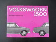 Betriebsanleitung VW 1500