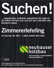 Zimmerer -In Lehrling