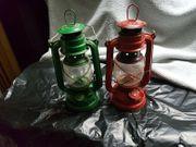2 x Alte Sturmlaterne Petroleumlampe
