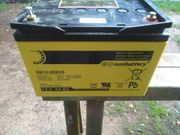 12 Volt Batterie für Weidezaun