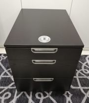 Ikea Galant Rollcontainer Büroschrank Schwarzbraun