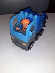 Duplo Müllauto Mülllaster Müllabfuhr Fahrer