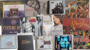 CD-Sammlung - 13 Alben und 26
