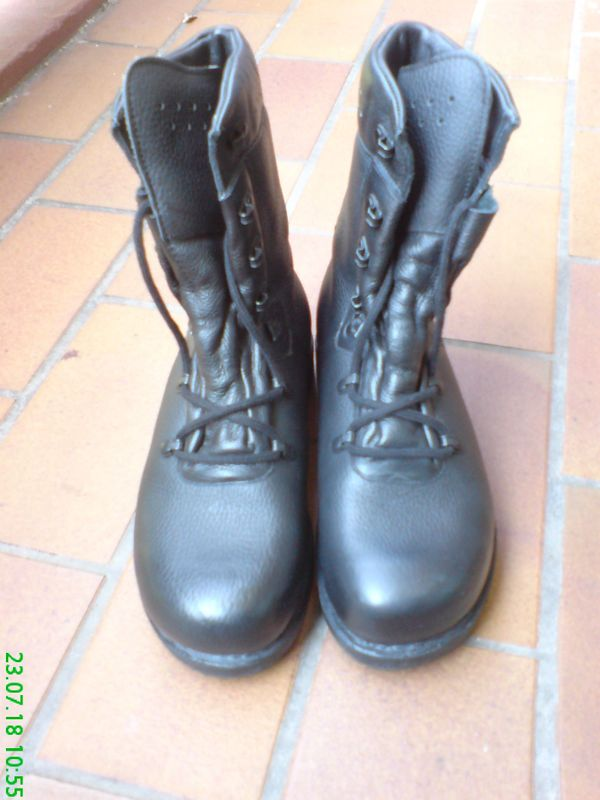 Leder Stiefel BW Stiefel Herren Gr. 40 Neu inkl. Versand in