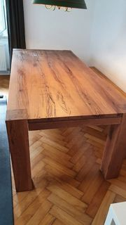 Tisch massiv Hand Anfertigung