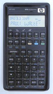 Programmable scientific RPN calculator WP-34s