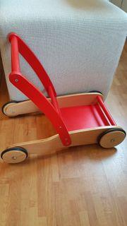 Lauflernwagen aus Holz von Pinolino