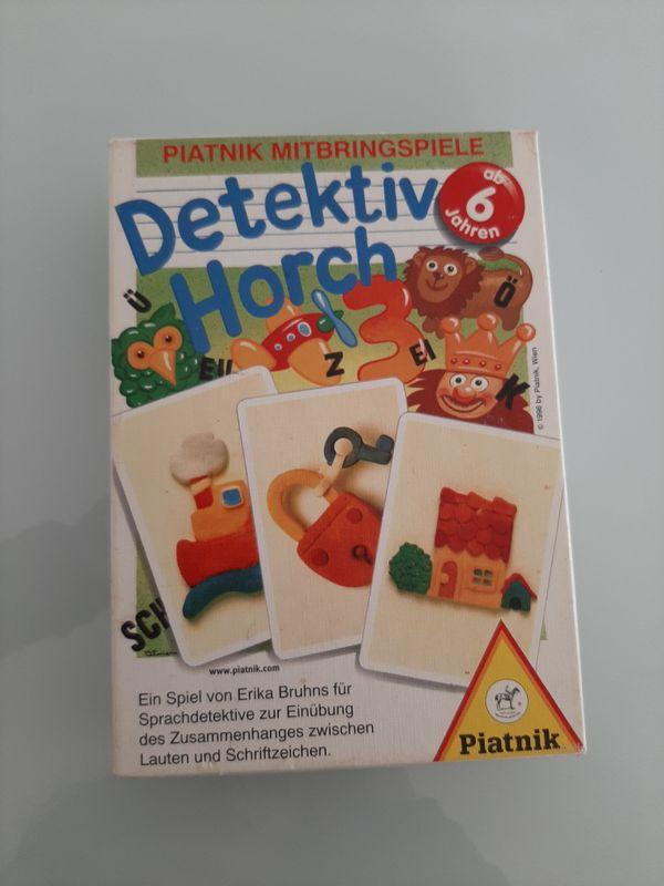 Detektiv Horch - Piatnik Kinderspiel