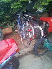 3 gebrauchte voll funktionsfähige Fahrräder
