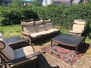 Sitzgarnitur Lounge Möbel 6 eilIg