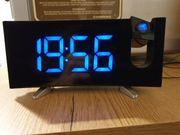 Projektions Uhr Wecker