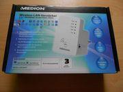 Wireless LAN Verstärker von Medion