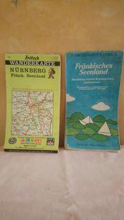 Wander- Rad- Karten 2mal Fränk