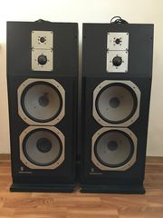4-Wege-Aktiv-Lautsprecherboxen Grundig Monolith 90a