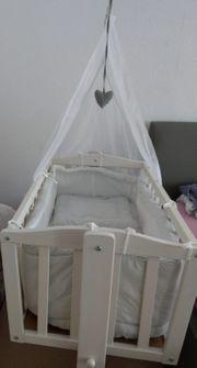 Wiege Stubenwagen Babybett Komplettset