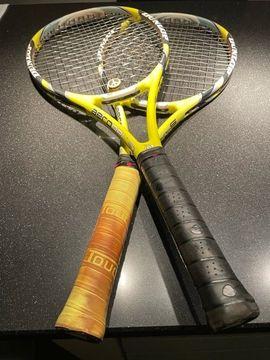 Bild 4 - 2 Dunlop Tennisschläger aerogel - Hockenheim
