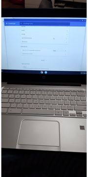 HP Chromebook 14 schwarz in