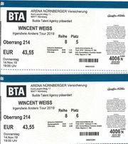 2 Tickets für Wincent Weiss