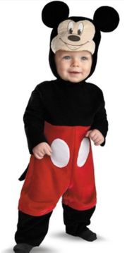 Disney Mickey Mouse Maus Fasching
