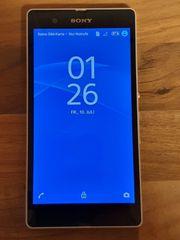 Sony Xperia Z in weiß
