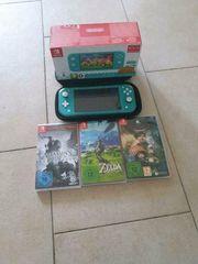 Nintendo switch lite mit Spielen