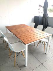 Designer Gartentisch mit oder ohne