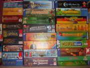 Über 500 Gesellschaftsspiele aus meiner