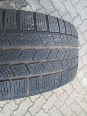 4 Pirelli Winterreifen auf Alufelgen