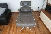 Vitra Lounge Chair mit Ottoman