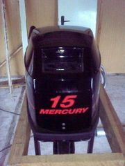 Aussenbordmotor Mercury 15 Normalschaft