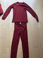 Odlo skiunterwäsche Größe 176 rot