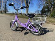 Puky ZL 12 Fahrrad flieder