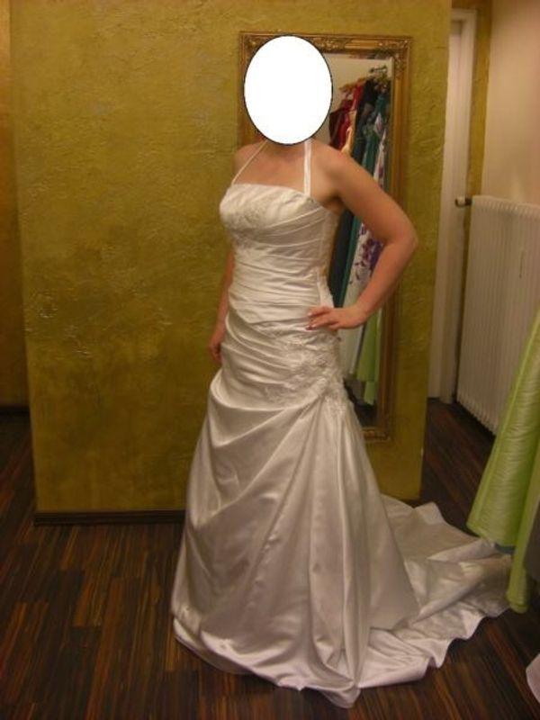 Wunderschönes Brautkleid Creme Größe 38