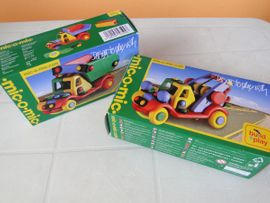 Sonstiges Kinderspielzeug - Bausatz Fahrzeuge