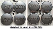 Original AUDI Emblemen Kleine kappen