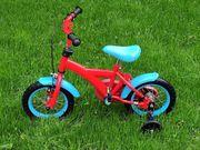 Kinderfahrrad - Stützräder - Fahrrad