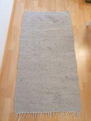 Fleckerlteppich - grau