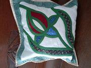 Hochwertige Handarbeit Patchwork Decken Kissen