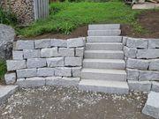 Granitsteine Stufen