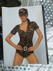 Dessous Tarn- Militärstyle Gr S