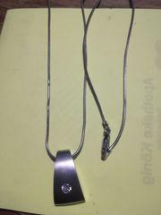 Silberkette Silberschmuck mit Anhänger beides