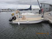 Angel- Motorboot mit AB und