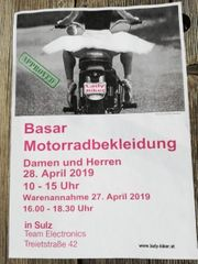 Basra für Motorradbekleidung und Zubehör