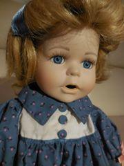 Puppe aus Porzellan handgefertigt