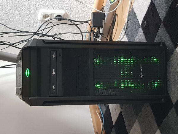 Gaming PC grün