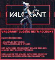 Valorant Closed Beta Account