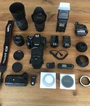 Canon EOS 600D Spiegelreflexkamera mit