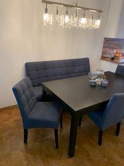 Esszimmerstühle und Bank Essgruppe