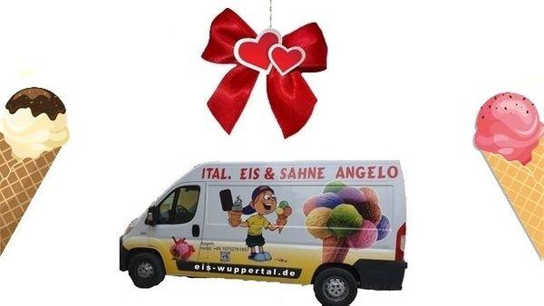 Weihnachtsgeschenk Hochzeitsgeschenk Geburtstagsgeschenk Eiswagen Ennepetal