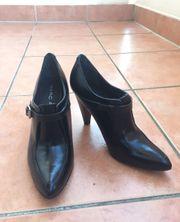 Schicke Damen High Heels Leder